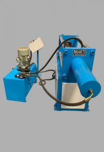 Cold pipe making machine.