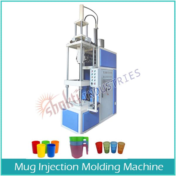 Mug Injection Molding Machine Manufacturer, Supplier and Exporter in Gujarat, India