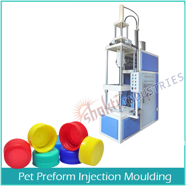 Plastic Bottle Cap Injection Moulding Machine Manufacturer and Supplier in Gujarat, India