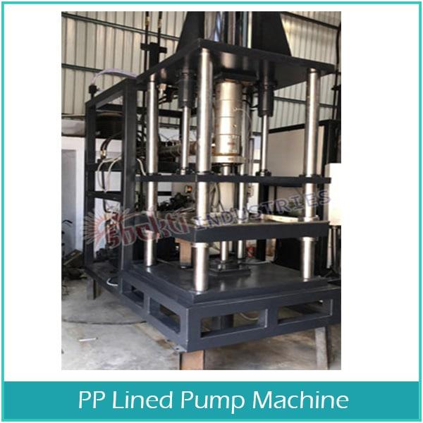 PP Lined Pump Machine Manufacturer in Gujarat
