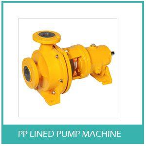PP Lined Pump Machine