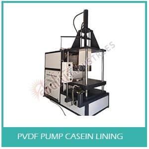 PVDF Pump Casein Lining Machine